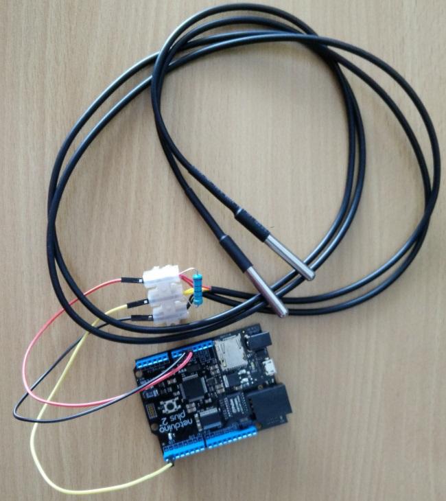 Netduino with temperature sensors